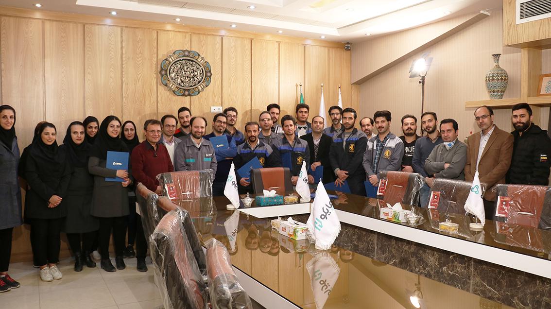 مراسم روز مهندس در فومیزه هایکو